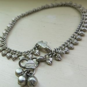 Jewelry - Indian Silver Anklet (Ankle bracelet) with Bells